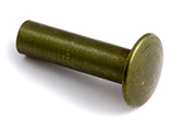 Olive Metallic Aluminum Chicago Screws Posts